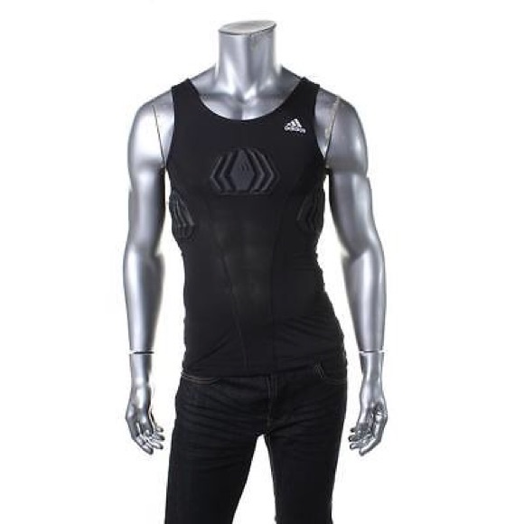 a3e9e9f2fdd159 New NWT Men s Adidas Techfit Compression Tank XL